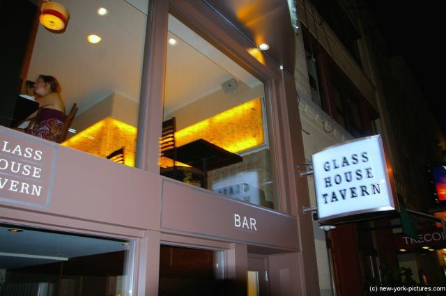 Glass House Tavern at Times Square New York